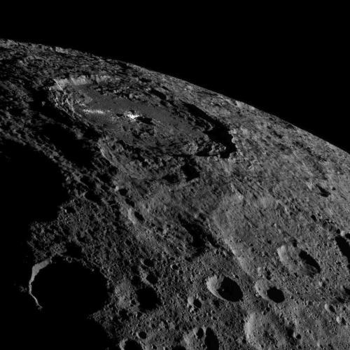 """כוכב הלכת הננסי קרס. מקור: נאס""""א."""