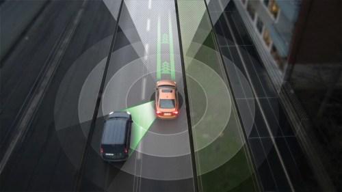 ב-2017 תערוך חטיבת מכוניות הנוסעים של וולבו ניסוי שטח בהשתתפות 100 כלי רכב שיצוידו במערכות לנסיעה אוטומטית. איור: אתר וולבו.