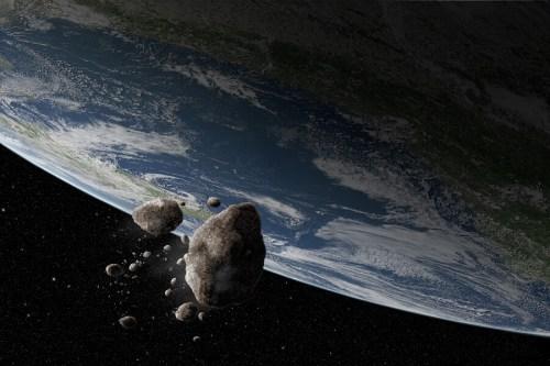 כרייה באסטרואידים. המחשה: דאסו סיסטמס