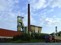 מכרה הפחם שהוסב לתחנת אגירת אנרגיה מתחדשת. תצלום: Goseteufel, Wikimedia.