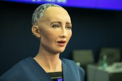 הרובוט סופיה. צילום: ITU/R.Farrell.