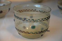 כלי זכוכית רומי עתיק, צילום: Carole Raddato.