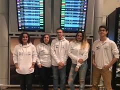 נבחרת ישראל לאולימפיאדת הכימיה במינסק, 2018. צילום: דוברות הטכניון