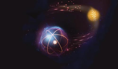 משהו רציני שער לוגי קוונטי בין פוטון לאטום שעשוי להוות בסיס לתקשורת קוונטית HA-11