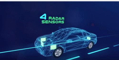 """מכ""""ם למכוניות אוטונומיות. איור: ארבה רובוטיקס"""
