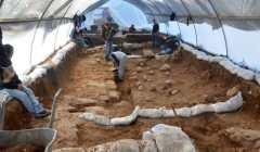 חפירת רשות העתיקות במגרש הרוסים בירושלים. צילום: כפיר ארביב, רשות העתיקות