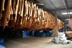 מפעל לייצור מוצרי עור בבנגלדש. צילום: shutterstock.com