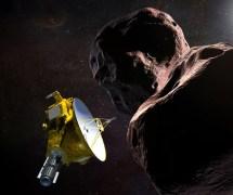 מעבר קצר שאמור לחשוף גרם שמימי לא נודע. הדמיה של New Horizons ליד ת'ולה אולטימה (לא בקנה מידה) | מקור: NASA