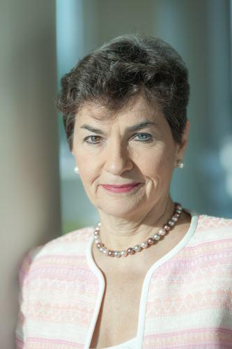 """כריסטינה פיגרס יושבת ראש אמנת המסגרת של האו""""ם לשינוי האקלים והגורם המניע של הסכם פריז. צילום: Julieb paquin"""