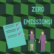 אפס פליטות פחמן. איור: shutterstock