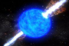 סופרנובה של כוכב קורס. (collapsar) (NASA Goddard Space Flight Centre)
