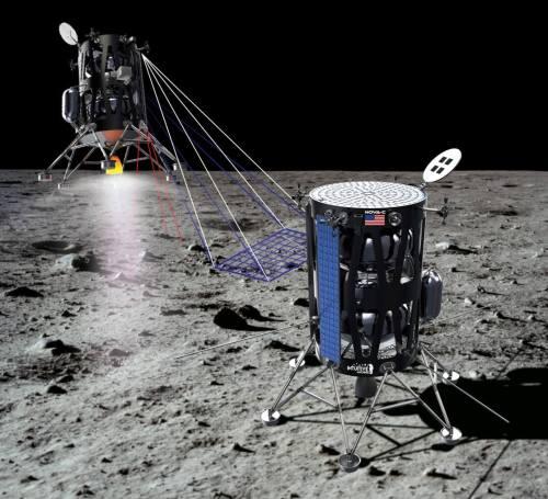 אינטואיטיב משינס מיוסטון הציעה להטיס עד חמישה מטעדים אל נקודה אפלה מסקרנת מבחינה מדעית על הירח מזכים: אינטואיטיב משינס