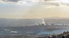 זיהום אוויר במפרץ חיפה. צילום: shutterstock