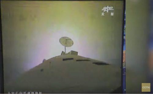 תחנת החלל הסינית טיאנגונג 2 בדרך להתרסקות מבוקרת. צילום: סוכנות החלל הסינית, מתוך שידורי תחנת CGTV