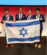 חברי נבחרת ישראל לאולימפיאדת הכימיה 2019. צילום: מרכז מדעני העתיד
