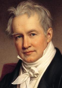 אלכסנדר פון הומבולדט. מתוך ויקיפדיה