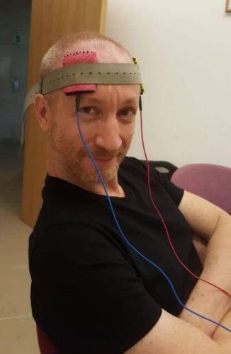 """ד""""ר שי מנשה , פוסט דוקטורנט במעבדה של פרופ' נירה משעל באוניברסיטת בר אילן .צילום: פרופ' נירה משעל"""