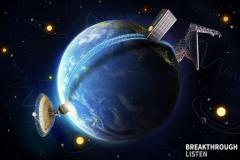 מיקום הטלסקופים של פרויקט Breakthrough Listen. צילום יחצ