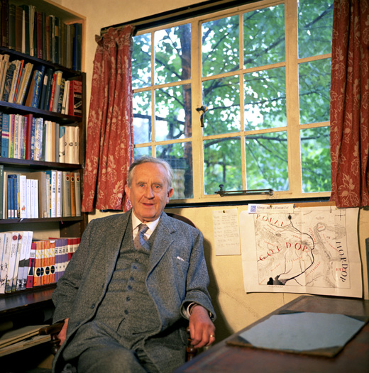 j-r-r-tolkien-in-his-study-with-a-map-of-middle-earth