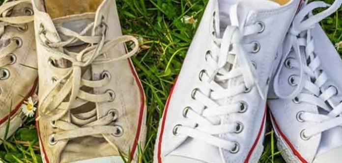 Beyaz Converse Ayakkabıları Hızlı ve Etkili Temizleme
