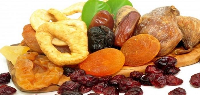 Protein Zengini Kuru Meyveler