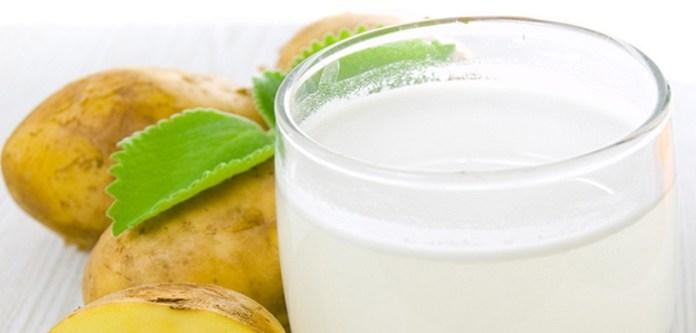 Patates Suyu İle En İyi 7 Güzellik Tarifi