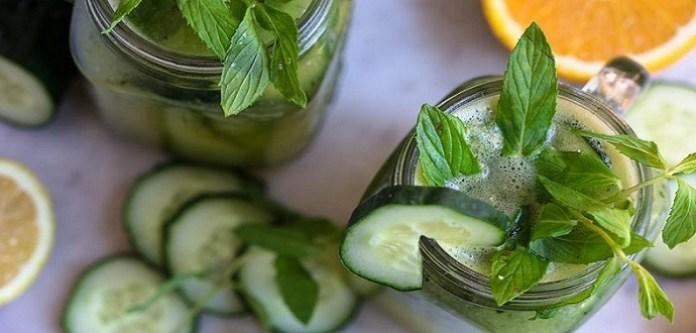 Salatalık Nane Çayı