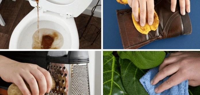 Temizlik İçin Kullanabileceğiniz 11 Garip Ama Doğru Yöntem