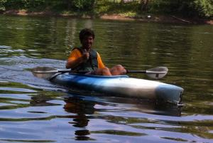 Staff in Kayak Photo