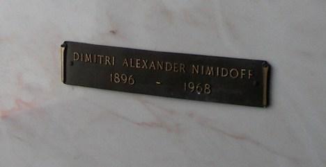 Dimitri Alexander Nimidoff