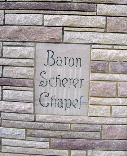 NAME BARON -SCHERER CHAPEL