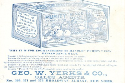 George W Yerks & Company, Sales Agents - Postcard