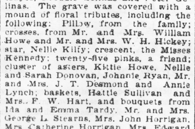 The Funeral of Thomas E Hayes