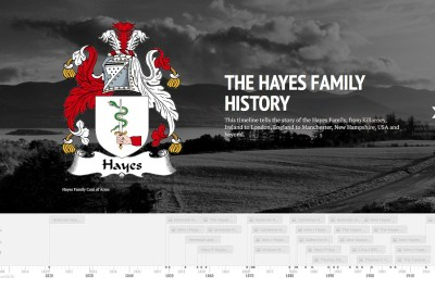 A Timeline of The Hayes Family Of Killarney Ireland; London, England & Manchester, NH