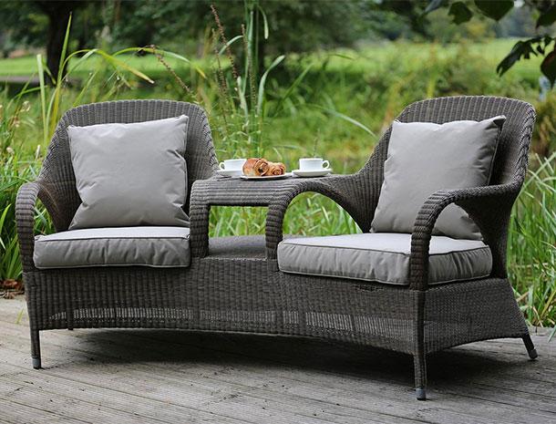 Seat Love Rattan Garden