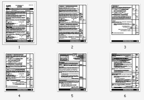 foia detailed cost itemization form