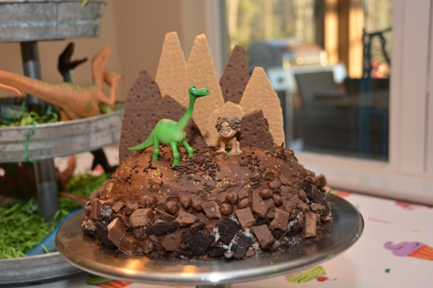The Good Dinosaur Homemade Cake