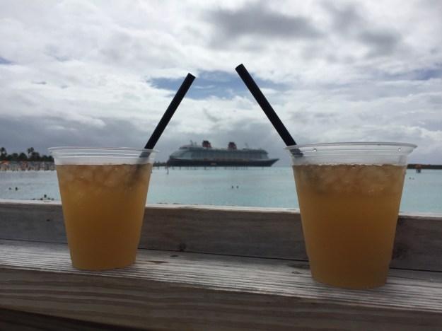 Disney Dream Castaway Cay Head's Up Bar Ship View