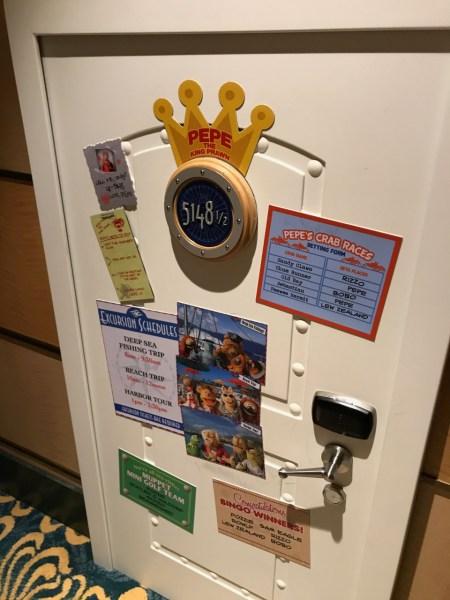 Disney Fantasy Pepe's Door