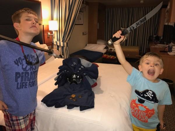 Disney Fantasy Pirate Swords