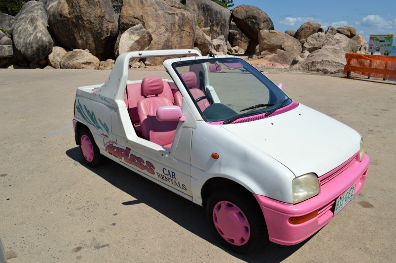 Barbie Cars on Magnetic Island