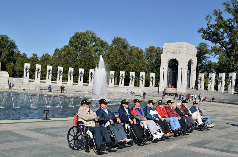 Washington DC Weekend: National WWII Memorial