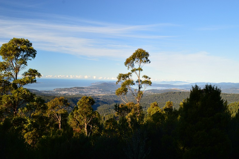 Things to do in Hobart Tasmania: visit Mount Wellington