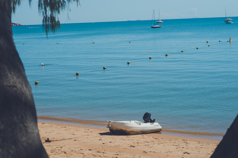 Horseshoe Bay on Magnetic Island in Queensland, Australia. Just one place to visit in Queensland to see the Great Barrier Reef.