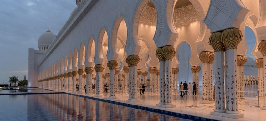Mosque in Abu Dhabi, United Arab Emirates