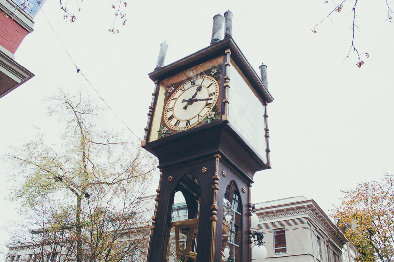 24 hours in Vancouver: visit Gastown