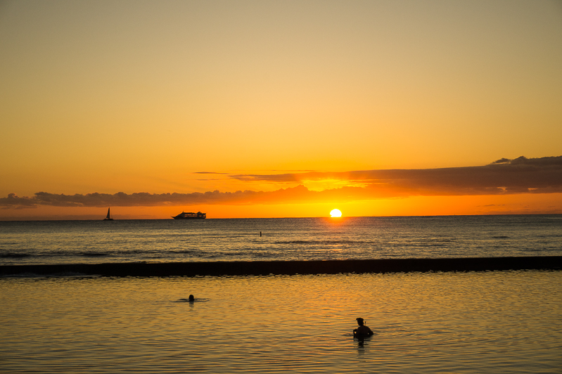 Favourite Photos from Hawaii: Waikiki Sunsets