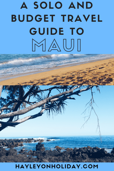 A comprehensive guide to both solo travel and budget travel to Maui. From the best things to do to budget accommodation and top Maui attractions, I've got you covered.