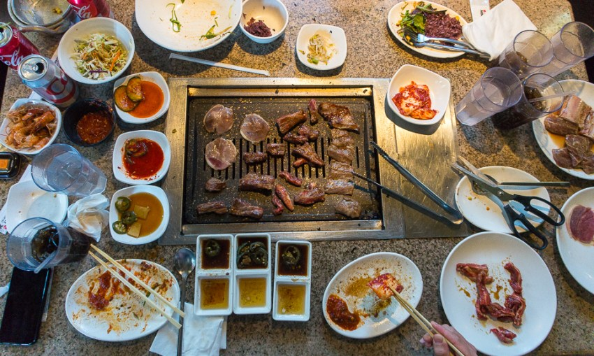 Los Angeles restaurants: Oo-Kook Korean BBQ