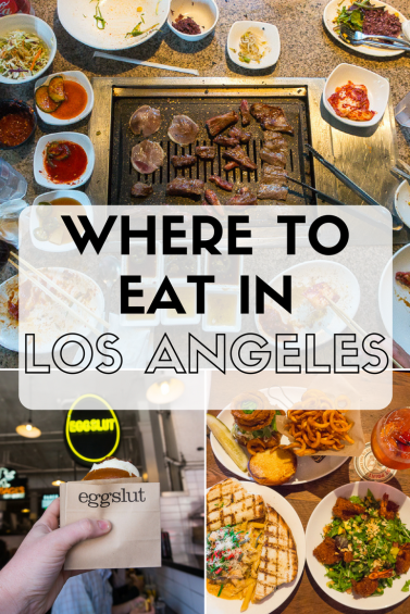 Here are my top picks for the best Los Angeles restaurants. From fast food to cheap tacos to the best Korean BBQ, click the link to find out where to eat in LA.